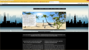 Full screen mobile responsive website, indepth SEO, full social media management