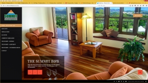 Full screen mobile responsive website with indepth SEO