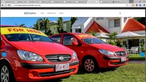 Full screen, mobile responsive website